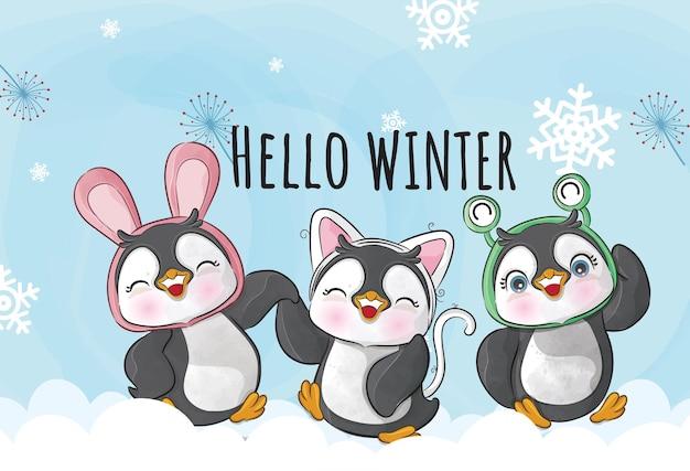 Mały pingwin 6