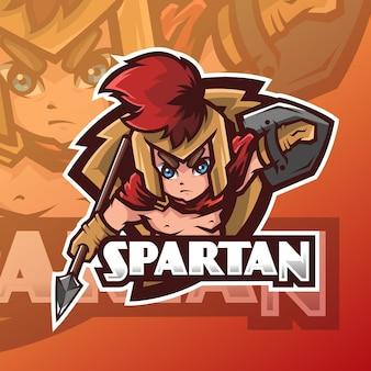 Mały projekt logo spartańskiego e-sportu