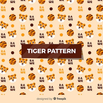 Mały wzór tygrysa