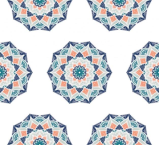 Mandala bezszwowy wzór