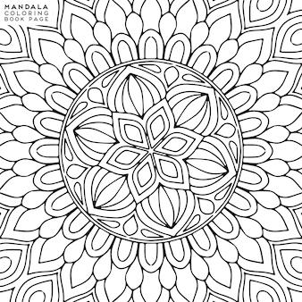 Mandala etniczne elementy dekoracyjne