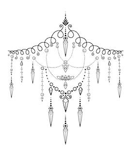 Mandala. kolorowanka
