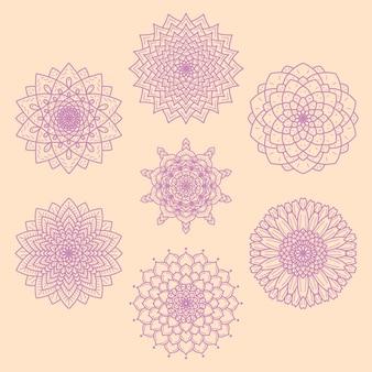 Mandala kwiaty