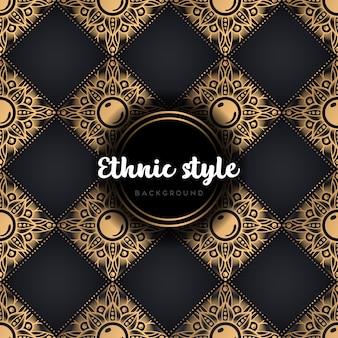 Mandala luksusowy wzór