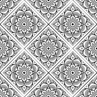 Mandala ornament wzór