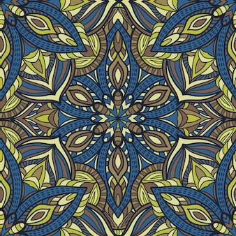 Mandala wektor wzór tła
