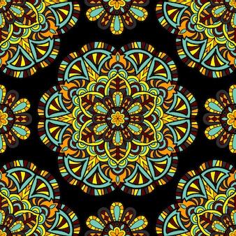 Mandala wektor wzór