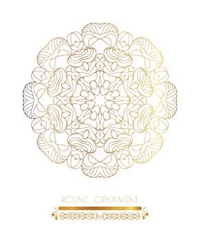 Mandala złota sztuka