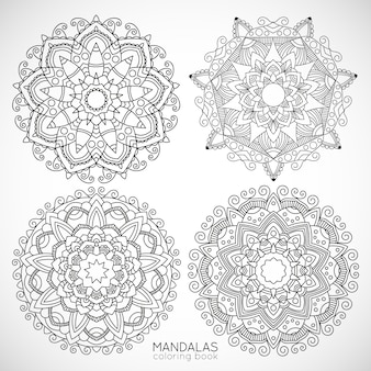 Mandalas / książka kolorowanka