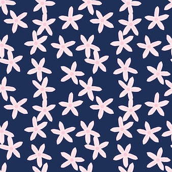 Mandarynki kwiat losowy wzór w kwiatowym stylu