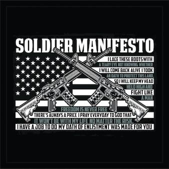 Manifest żołnierza