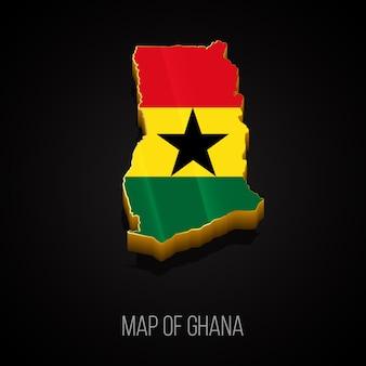 Mapa 3d ghany