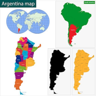 Mapa argentyny