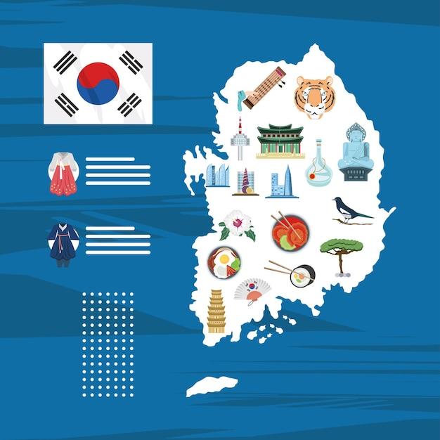 Mapa korei