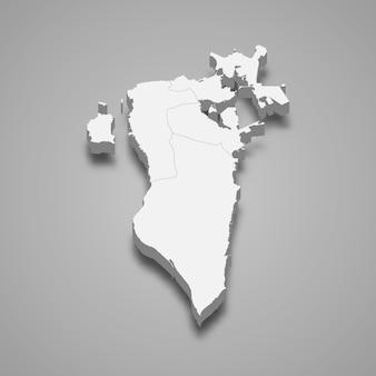 Mapa kraju z granicami