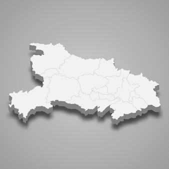 Mapa prowincji chin
