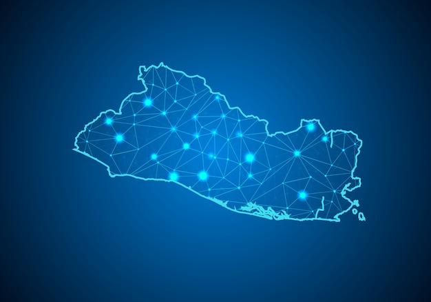 Mapa salwadoru.
