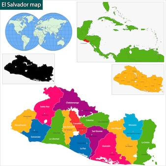 Mapa salwadoru