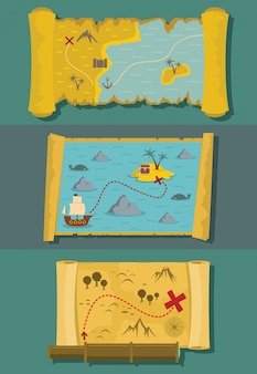 Mapa środowisk skarbów