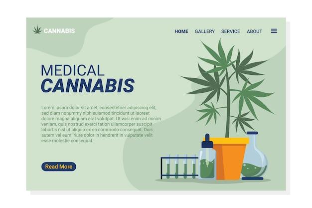 Marihuana medyczna - strona docelowa