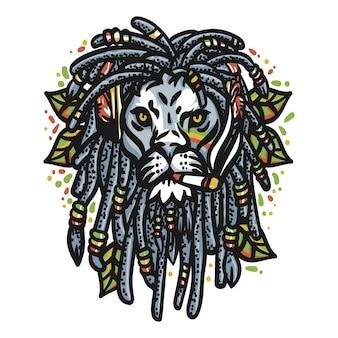 Marihuana z głową lwa