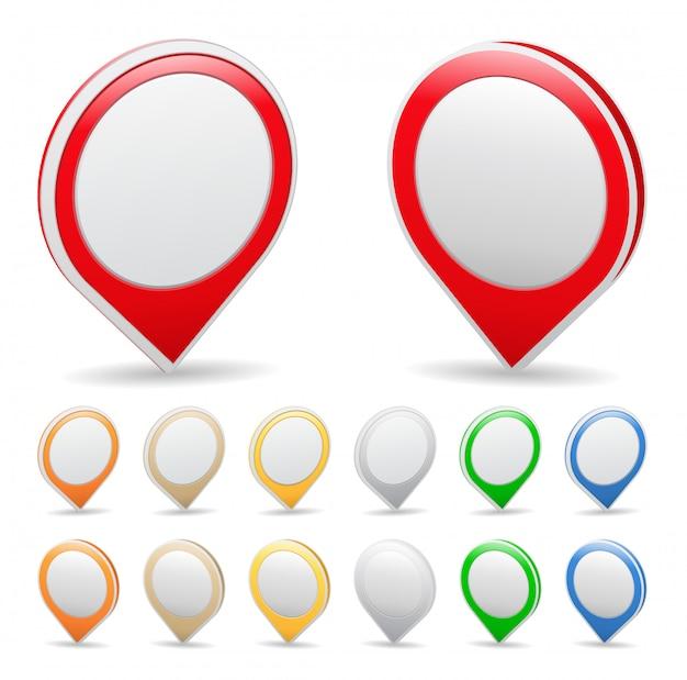 Markery na mapie