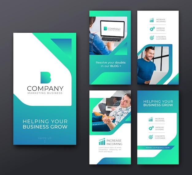 Marketingowe historie biznesowe na instagramie