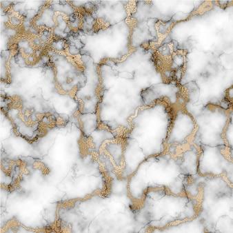 Marmurowe tło tekstury ze złotymi pociągnięciami