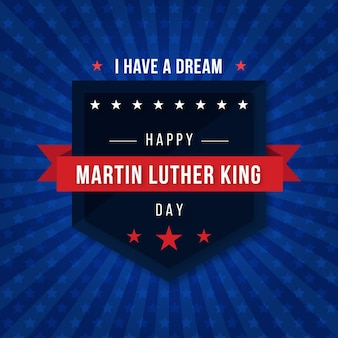 Martin luther king day ilustracja