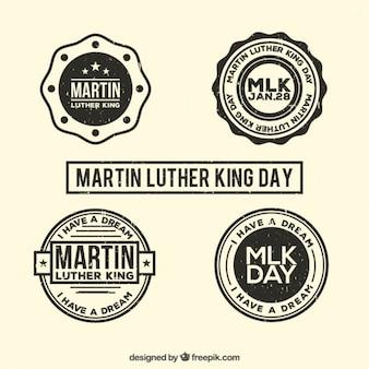 Martin luther king day odznaki ustaw