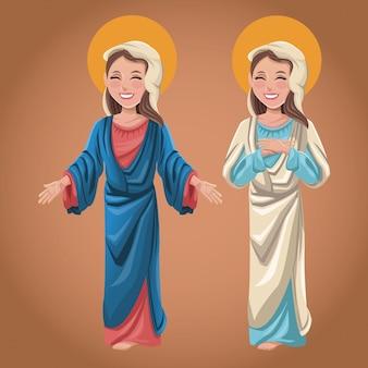 Maryja dziewica duchowa katolicka