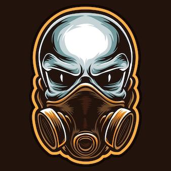 Maska czaszki