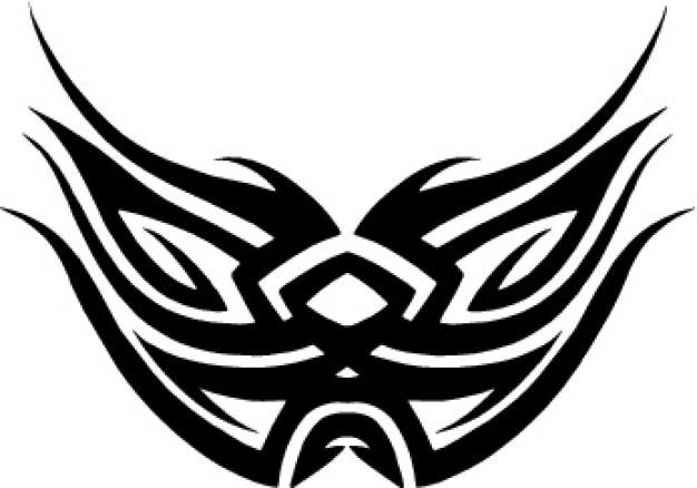 Maska lub projektu wings tattoo