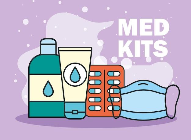 Maska medyczna i leki