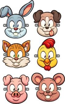 Maski dla zwierząt