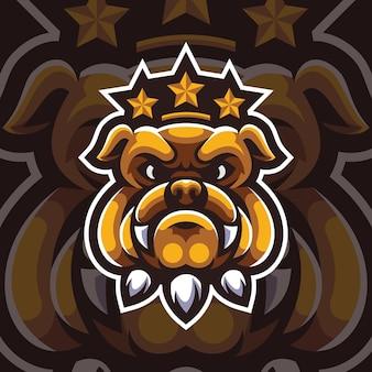 Maskotka bulldog