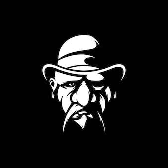 Maskotka czapka mężczyzny