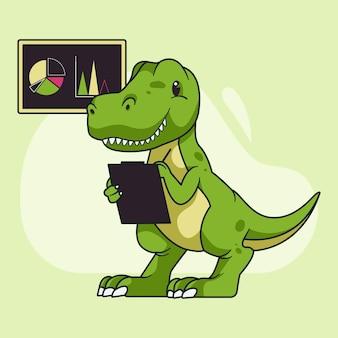 Maskotka dinozaura
