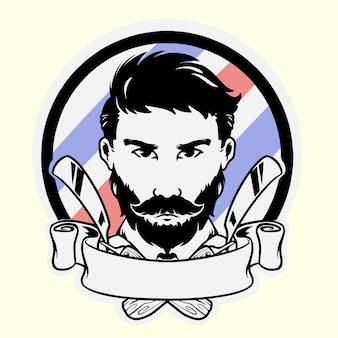 Maskotka dla zakładów fryzjerskich