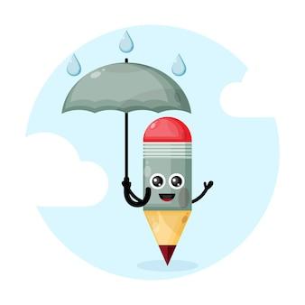 Maskotka długopis z parasolem