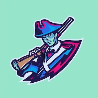 Maskotka duch pirata