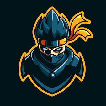 Maskotka e-sport ninja