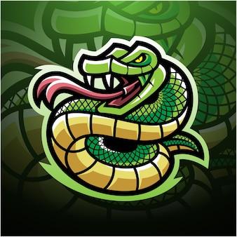 Maskotka e-sportowa viper