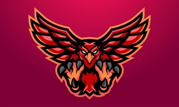 Maskotka eagles red esports