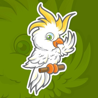 Maskotka kakadu