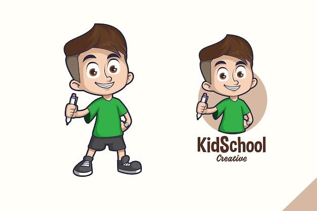 Maskotka kid school