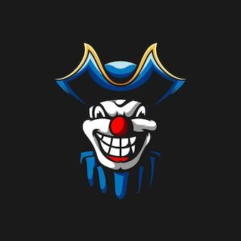 Maskotka klauna piratów