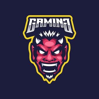 Maskotka logo diabła