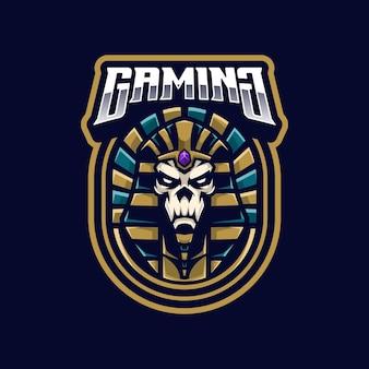 Maskotka logo faraona