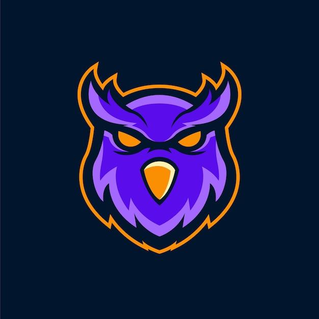Maskotka logo sowa